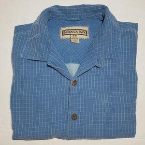Vintage Jamaica Jaxx Pale Slate Blue Shirt
